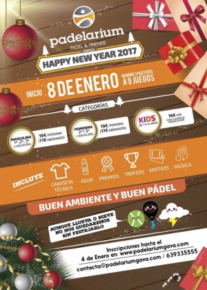 Torneo Happy New Year 2017 Padelarium
