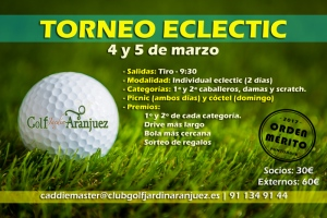Torneo Eclectic - Individual eclectic